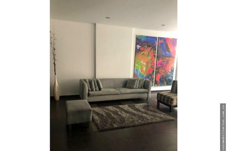 Portada Apartamento de 105m2 en Santa Bárbara, Bogotá con amplia terraza