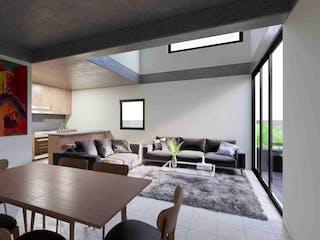 Una sala de estar llena de muebles y una mesa en Concepción Beistegui 181