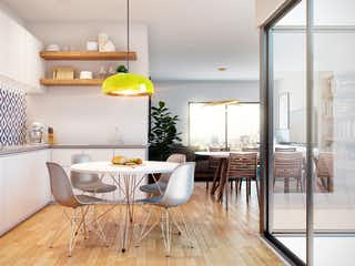 Una sala de estar llena de muebles y una mesa en Rosas Moreno 10