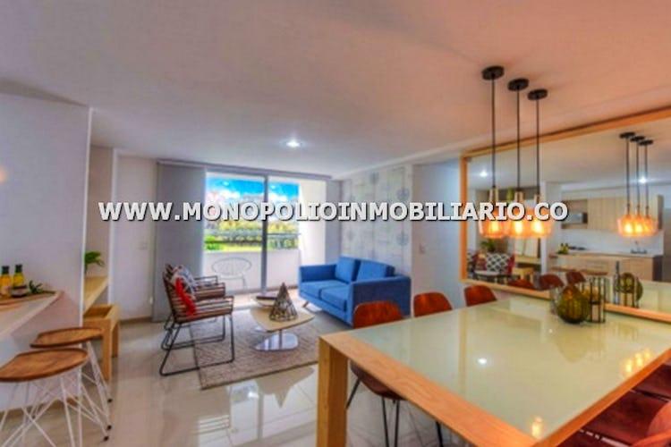 Portada Apartamento sector loma linda itagui -64 mtrs, 2 habitaciones, 1 parqueadero.