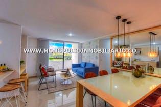 Apartamento sector loma linda itagui -64 mtrs, 2 habitaciones, 1 parqueadero.