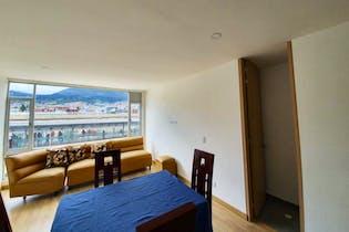 Apartamento de 82m2 Ciudad Jardín Sur, Bogotá - con tres alcobas