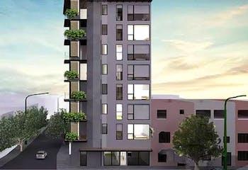 Preventa departamento en la Roma con terraza
