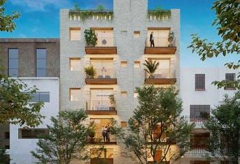 Calzada Manuel Villalongin, Apartamento en venta en Colonia Cuauhtémoc de 2 hab.