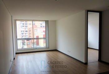 Apartamento en venta en Barrio Cedritos de 59m² con Jardín...