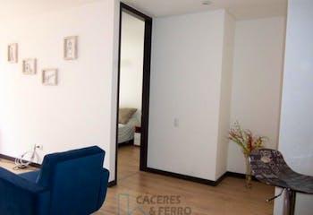 Apartamento en venta en Barrio Cedritos de 1 hab. con Jardín...