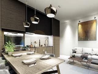 Una sala de estar llena de muebles y una lámpara de araña en Palo D' Rosa