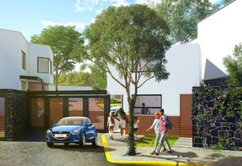 Casa en condominio horizontal en preventa, Col. Candelaria, Coyoacan, CDMX.