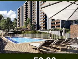 Apartamento en venta en  Rionegro (Fontibon) de 52,2mts2
