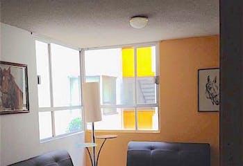 Departamento en venta en Escandón, 74 m2.