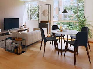 Una sala de estar llena de muebles y una televisión de pantalla plana en Country - Paradise