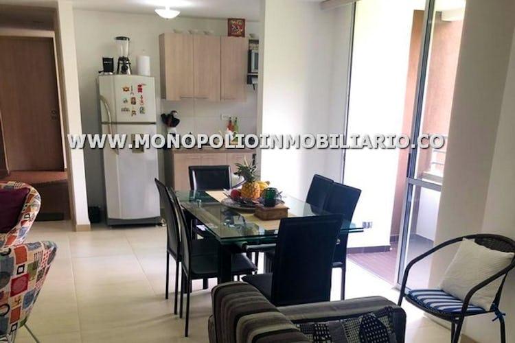 Portada Apartamento en Alcazares, Sabaneta - 65 mt, dos habitaciones, balcón