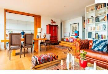 Apartamento de 226m2 en El Refugio, Bogotá - con terraza de 110m2