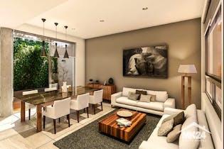 Casa en venta  en Cuajimalpa con jardin interior