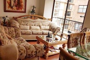 Apartamento duplex en Cedritos, Caobos Salazar con 3 habitaciones.