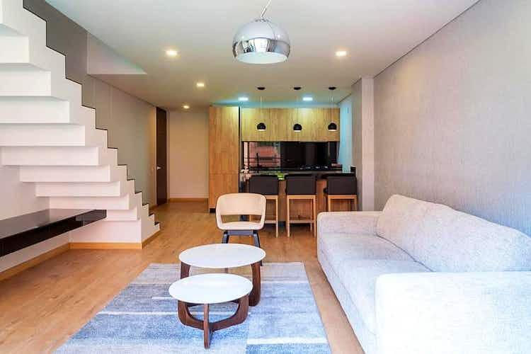 Portada Apartaestudio en Los Rosales, Chapinero - Una habitacion con closet