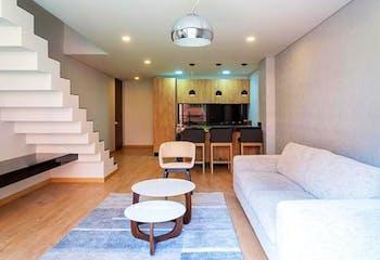 Apartaestudio en Los Rosales, Chapinero - Una habitacion con closet