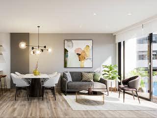 Una sala de estar llena de muebles y una mesa en PARK 114 CLUB HOUSE