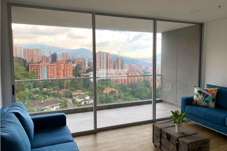 Portada Apartamento en el Poblado, sector el Tesoro - en piso alto