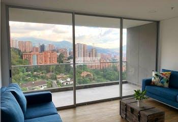 Apartamento en el Poblado, sector el Tesoro - en piso alto