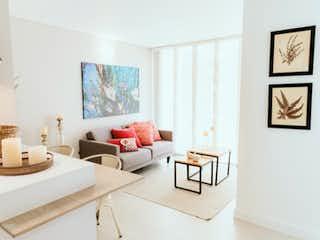 Una sala de estar llena de muebles y decoración en Panorama Boreal