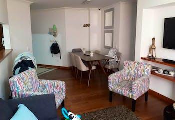 Apartamento en venta en Santa Barbara Occidental Usaquén de 70m²