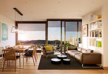 Udara Entre Parques, Apartamentos en venta en Los ándes de 1-3 hab.