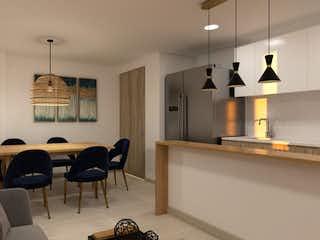 Una sala de estar llena de muebles y una lámpara de araña en Remanso De Oriente