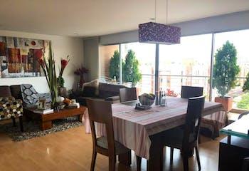 Apartamento en Caobos Salazar, Cedritos - 123 mt2, tres alcobas