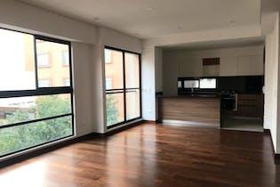 Apartamento en La Cabrera, Chico - 99 mt2, piso 6, con chimenea