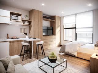 Una sala de estar llena de muebles y una ventana en Smart Habitat
