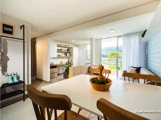 Una sala de estar llena de muebles y una mesa en Natal