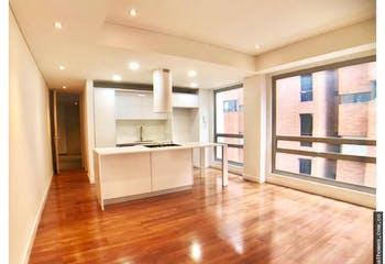 Apartamento en chico bogota - 56 mts, 1 parqueadero.