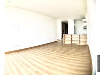 Una vista de una habitación con un suelo de madera en  APARTAMENTO VENTA EL NOGAL, BOGOTA