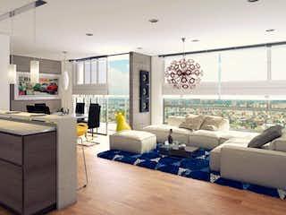 Una sala de estar llena de muebles y una gran ventana en Artio 144