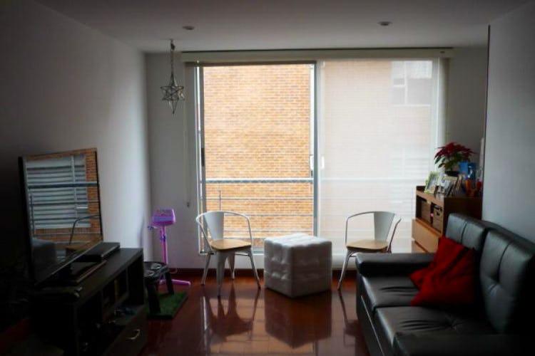 Portada Apartamento en Contador, Cedritos con dos alcobas, dos garajes