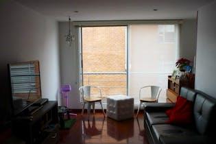 Apartamento en Contador, Cedritos con dos alcobas, dos garajes