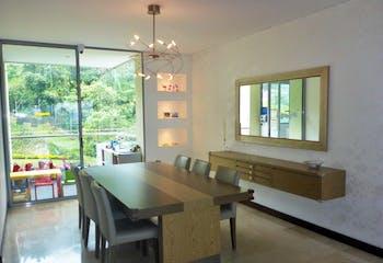 Apartamento en Papirus de luxe, Los Balsos 1 - El poblado, cuenta con tres habitaciones mas servicio