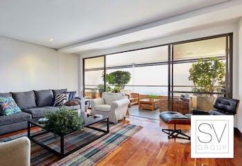 Apartamento en Arrayanes de la calera, El Tesoro - Poblado, cuenta con 3 habitaciones