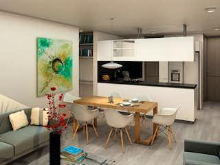 Una sala de estar llena de muebles y una mesa en Acereto