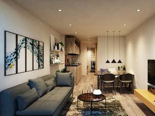 Una sala de estar llena de muebles y una televisión de pantalla plana en Garden Home Club