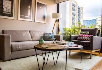 Ikaria, Apartamento en la Cabrera de 2 habitaciones, 90 metros