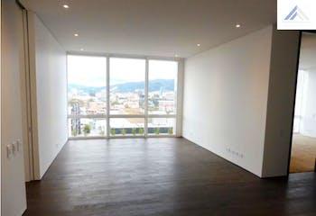 Apartamento de 103m2 en Chicó Reservado, Bogotá - en piso 10, ascensor privado