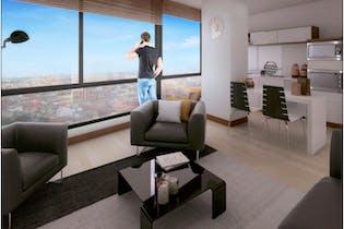Oga 6-48, Apartamento en Chapinero Alto de una habitación, 43 mts