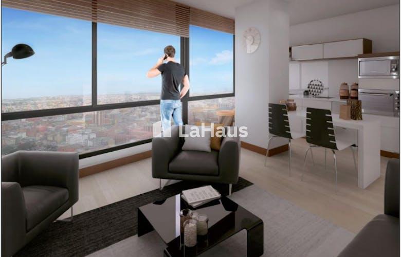 Portada OGA 6-48, Apartamento en Chapinero Alto de una habitación, 43 mts