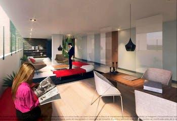 OGA 6-48, Apartamento en Chapinero Alto de 1 alcoba, 45 mts