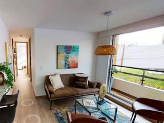 Una sala de estar llena de muebles y una televisión de pantalla plana en Novaterra - Cedro