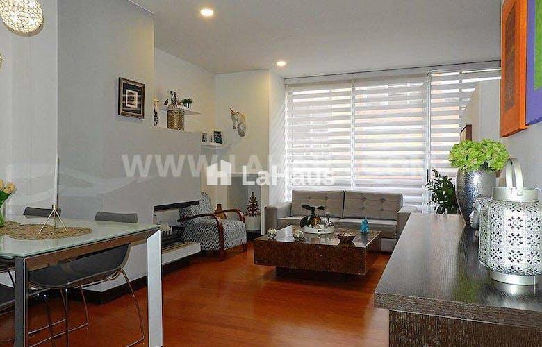 Portada Apartamento en Chicó Reservado de una alcoba, 58 m2