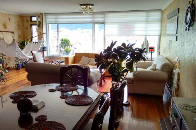 Portada Apartamento de 166m2 en Bogotá, Galerías - con tres alcobas