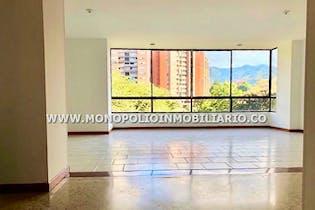 Apartamento en La Inmaculada, Envigado - 168mt, tres alcobas, ventanal